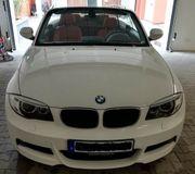 BMW 123d Cabrio M-Sportpaket Leder