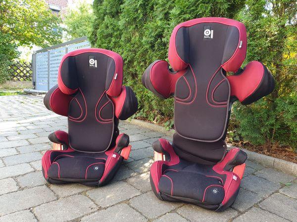 zwei Auto-Kindersitze von Kiddy Modell