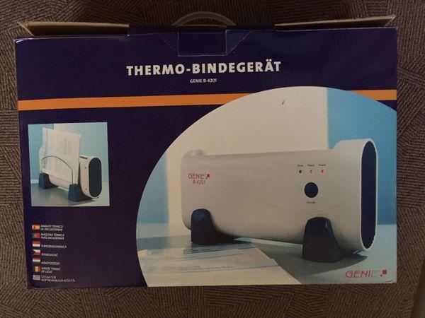 Thermo Bindegerät GENIE 4201