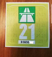 Vignette 2021 Autobahn Schweiz