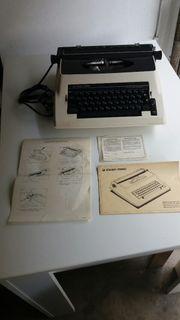Vintage Schreibmaschine Silver Reed 6200CR