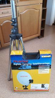 Telestar digitale Satelitenanlage mit stativ