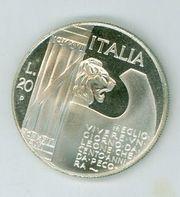 Gedenkmünze Mussolini