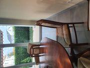 Esszimmer Tisch oval 4 Stühle