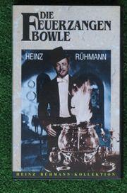 VHS-Cassetten Die Feuerzangenbowle Mr Bean