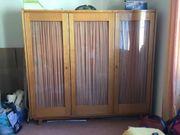 Schrank Glasschrank Holzschrank Schlafzimmerschrank