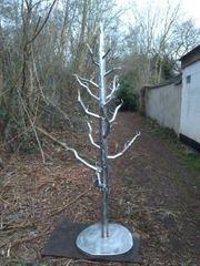 Edelstahlbaum - 2 4 meter gross