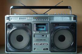 Radio, Tuner - SHARP gf-9494 Ghettoblaster