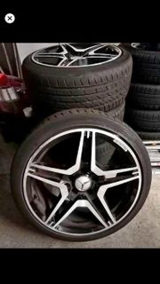 Mercedes amg design felgen 18