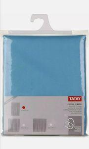 TATAY - Duschvorhang Polyester Blau 140