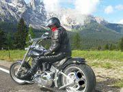 Gemeinsam Motorrad fahren