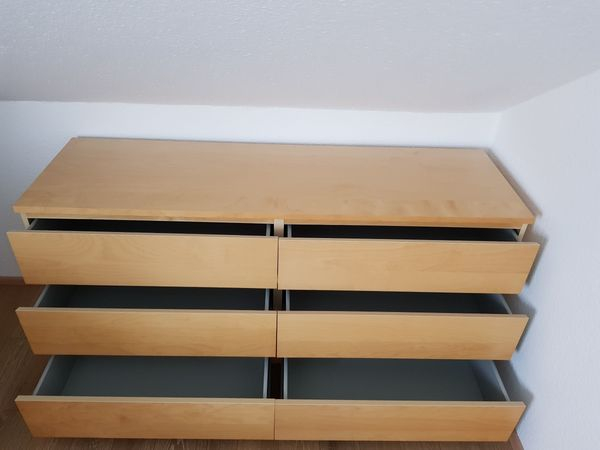 IKEA Kommode - MALM 2 Stück