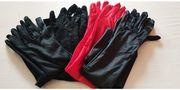 Lange edle Handschuhe