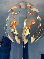 Deckenlampe IKEA PS2014 weiß-orange