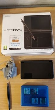 Nintendo DSi XL inkl 8