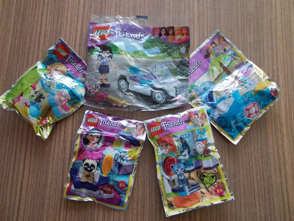 5 Teiliges Lego Friends Paket