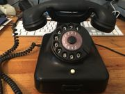 Altes Telefon W48 aus Bakelit