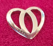 Schöner Herz Silberanhänger 925 von