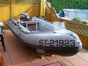 Schlauchboot Zodiac MK II 25