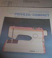 Bedienungsanleitung Privileg Compact 710