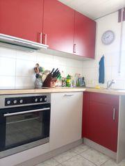 Küche mit Geräten transportfertig