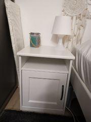 IKEA Nachtkästchen weiß