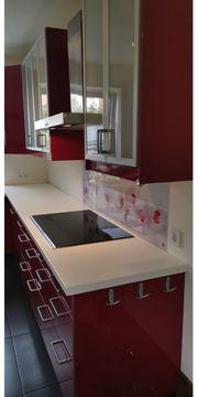 Schöne Ikea Küche in Rot