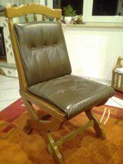 6Stck rustikale Stühle