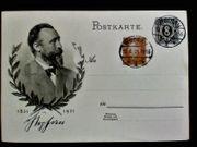 Ganzsache Briefmarke Deutsches Reich