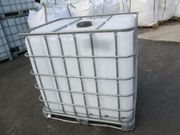 Gebrauchte 1000l IBC Wassertanks