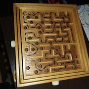 Holzkugel Labyrinth