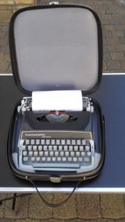 Alte Hanseatic de luxe Schreibmaschine