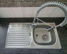 Küchenzeilen, Anbauküchen - Küche Nobilia Weiß Hochglanz