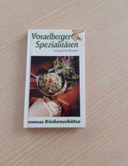 Kochbuch klein Vorarlberger Spezialitäten