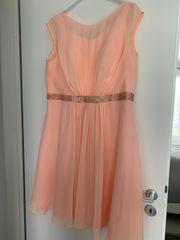 Abendkleid Cocktailkleid Apricotfarben