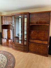 Hochwertiger Wohnzimmerschrank Hochglanz italienische Stilmöbel