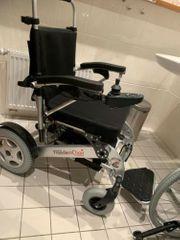 Elektrischer Rollstuhl faltbar