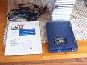 ZIP-Laufwerk mit 20 Disketten