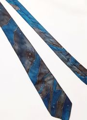 Unikat Krawatte Binder reine Seide