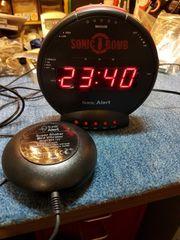 Uhr Wecker mit Vibrationsalarm Sonic