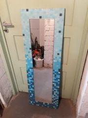 Spiegel Mosaik türkis