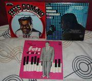 3x FATS DOMINO Schallplatten LPs