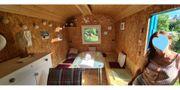 Liebevoll ausgebauter Bauwagen-Tiny House mit