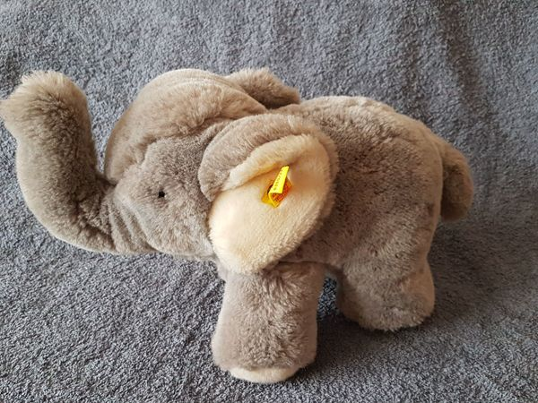 Steiff-Elefant 5350 22 kuschelweich wenig