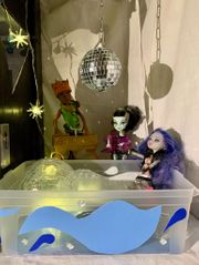 Monsterhigh Puppenhaus - individuell gefertigt