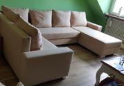 Couch in U-Form mit Schlaffunktion