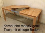Ausziehbarer Tisch mit 6 Stühle