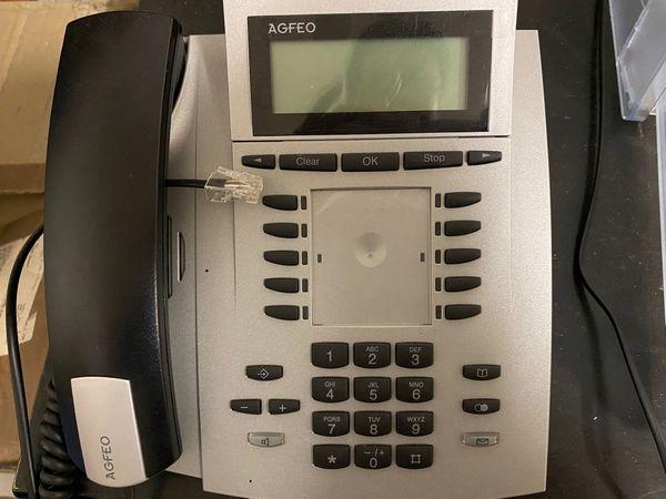 2 x Systemtelefon AGFEO ST42