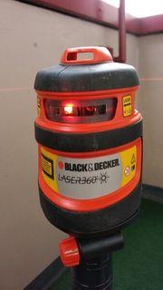 Laser 360 selbstnivellierend von Black
