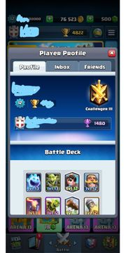 Clash Royale Level 12 Account